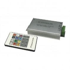 Sterownik do taśm RGB radiowy + pilot 20p. 24 ampery