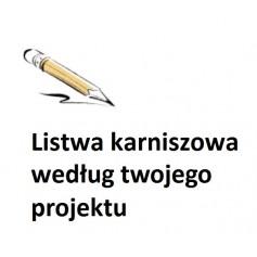 LK-00 Listwa karniszowa według własnego projektu! Listwa oświetleniowa