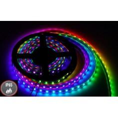 Taśma RGB 300 smd 5050 14,4W IP65 12V