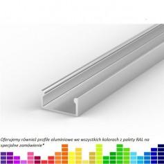 Profil led P4 nawierzchniowy 15 x 7 mm