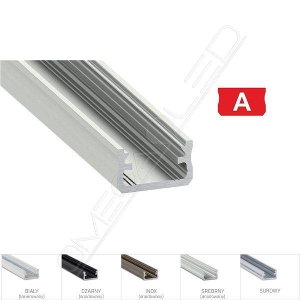 Profil led A nawierzchniowy 16 x 9,3mm
