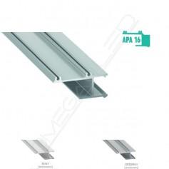 Profil led APA 16 wykończeniowy do płyt GK 15,8mm