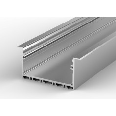 Profil led P23-1 wpuszczany 48 x 25 mm