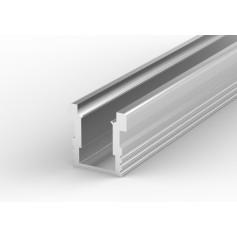 Profil led P24-1 najazdowy, hermetyczny 26 x 26 mm