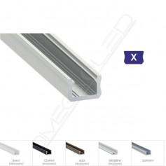 Profil led X nawierzchniowy 12 x 8mm