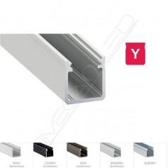 Profil led Y nawierzchniowy 17 x 18mm