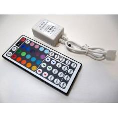 Sterownik IR RGBW 40 przycisków 96W
