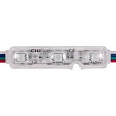 Moduł led 5050 RGB Korea 12V DC IP68