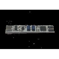 Włacznik w profil zbliżeniowy z podświetleniem 12-24V