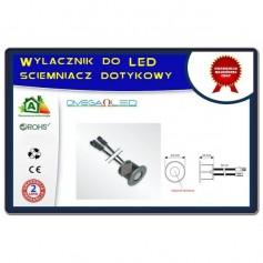 Wyłącznik / ściemniacz dotykowy do LED