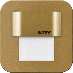 SKOFF Oprawa LED SALSA MINI STICK mosiądz mat przyklejana do ściany