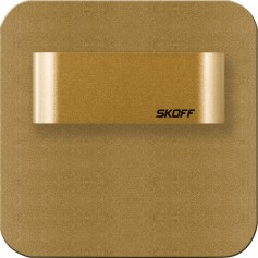 SKOFF Oprawa LED SALSA SHORT mosiądz mat puszka