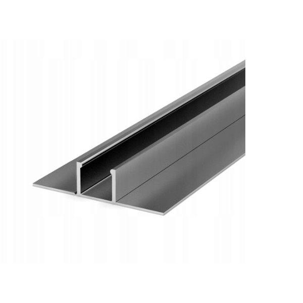 Profil led P17-1 sufitowy do G-K 55,5 x 13,5 mm