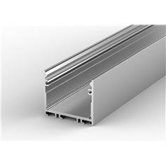 Profil led P22-3 nawierzchniowy głęboki 31 x 25 mm