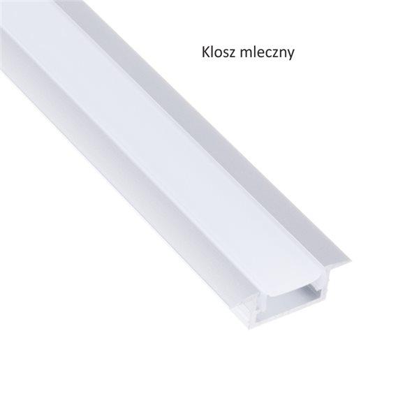 Profil led IL1 mini nawierzchniowy 14x6 mm