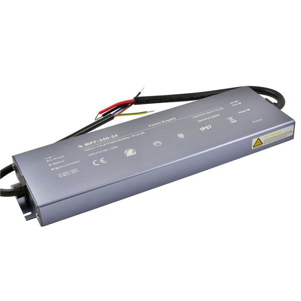 Zasilacz LED płaski 350W 12V/24V IP67