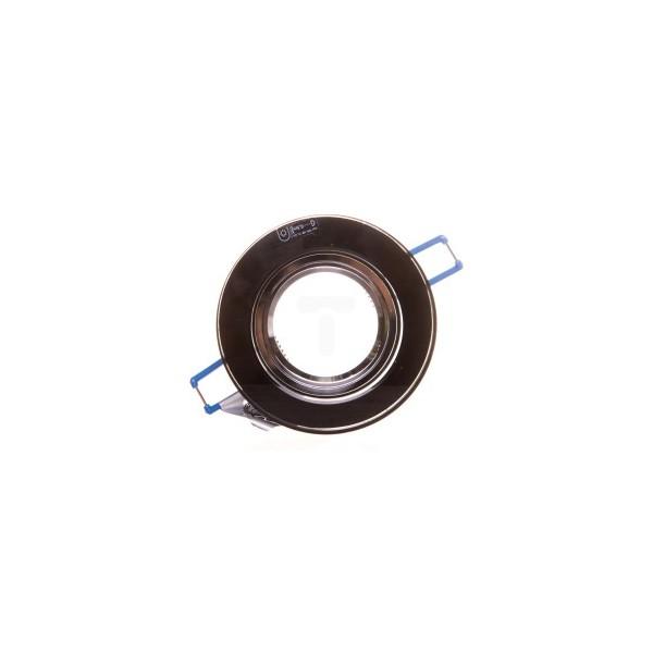 Oprawa punktowa 1x50W Gx5,3 kl.III 12V IP20 MORTA B CT-DSO50-B czarna 22116