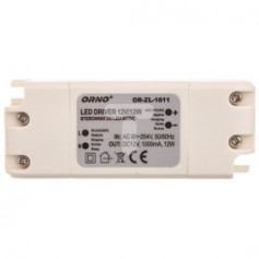 Zasilacz LED 12V DC 12W 1A IP20 OR-ZL-1611
