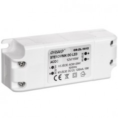 Zasilacz LED 12V DC 15W 1,25A IP20 OR-ZL-1612
