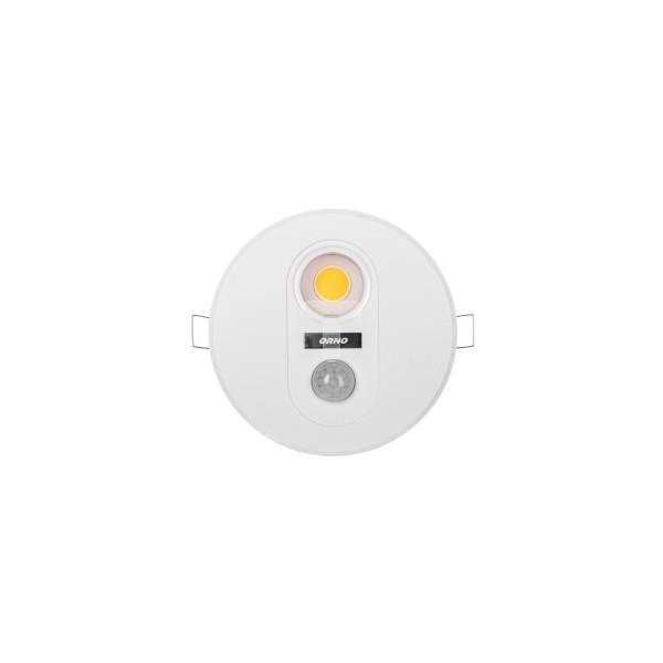 Oprawa wstropowa TOBIA LED z czujnikiem ruchu 360stopni 7W 230V 665lm 3000K fi130mm OR-OP-6003LR3