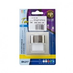 Oprawa LED TANGO mini K (szlif) / B (niebieski) INOX ML-TMI-K-B-1-PL-00-01