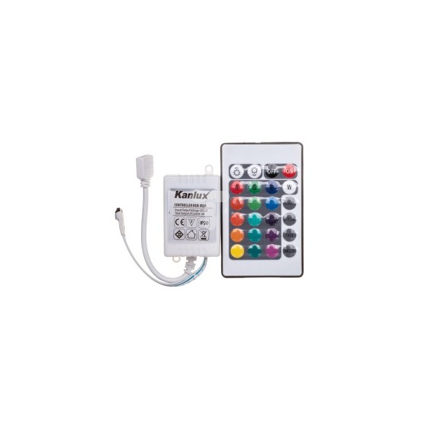 Kontroler do lin.mod.LED RGB CONTROLLER LED RGB-IR20 18960